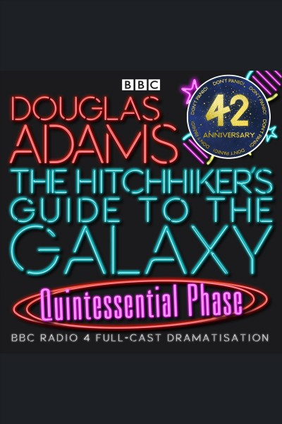 hitchhikers guide to the galaxy audiobook bbc